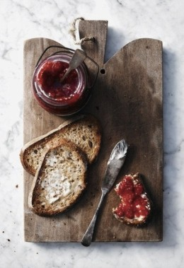 jam and toast