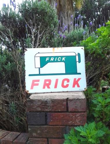 Frick sign