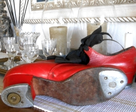 Little red Tap shoes c