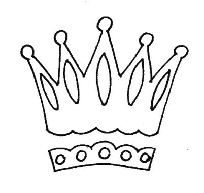Crown template b)